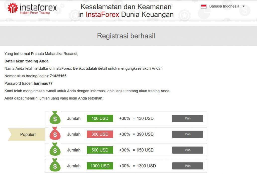 Tutorial Pembuatan Akun Trading Menggunakan Broker Insta ...
